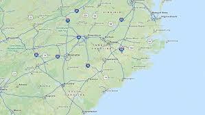 america map carolina top carolina high schools best high schools in