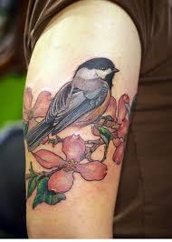traditional tattoo sleeve in progress roses locket sparrows