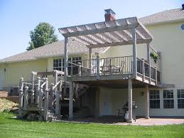 Deck With Pergola by Pergola Deck Ideas Deck Image Gallery U2013 Top Deck Inc