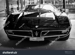 black maserati sports car stuttgart germany march 02 2017 sports stock photo 600089183