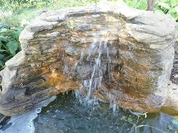 Waterfall For Backyard by Landscape Waterfall Gallery Backyard U0026 Pool Rock Waterfalls