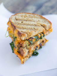 smoky kale and chipotle grilled cheese