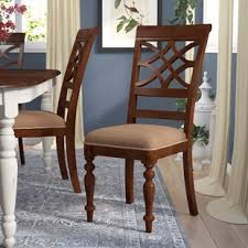 Dining Room Chairs Cherry Cherry Kitchen Dining Chairs You Ll Wayfair