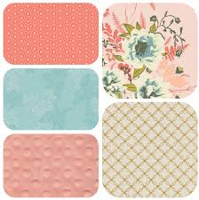 Shabby Chic Crib Bedding Sets by Baby Round Crib Bedding Set Coral Blue And Gold Ruffled
