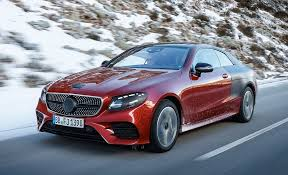 mercedes e class coupe 2018 mercedes e class coupe ride review car and driver
