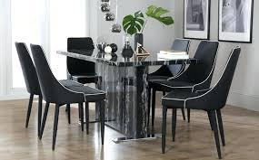 black marble dining table set marble dining table sets dining room table marvelous black rectangle