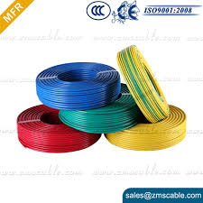 flexible cable rvv electric color code 3 core 3cx2 5mm2 outdoor