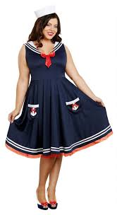 s plus size all aboard sailor costume apple costumes