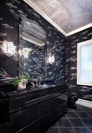 Black Bathrooms Ideas by 20 Stylish Black Vanity Bathrooms Ideas Home Furniture