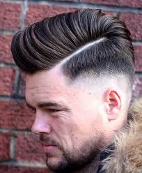 skin fade comb over hairstyle stylish 7 skin fade pompadour hairstyles for men hairstylesout