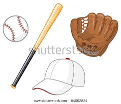 softball glove background vector download free vector art stock