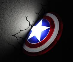 captain america shield light target captain america shield 3d deco light lights pinterest 3d deco