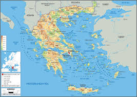 Blank Map Of Ancient Greece Kos Map Kos Island Town Greece Maps U0026 Information Brochures