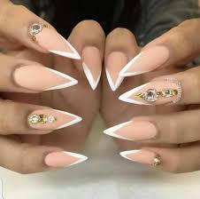 13 gorgeous long stilletto nail designs