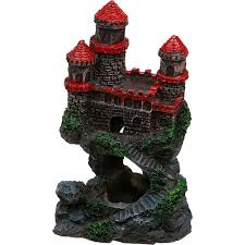 penn plax mini castle aquarium ornament petco