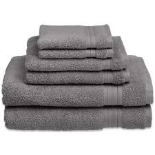 welspun hygrosoft 6 piece towel set bed bath u0026 beyond