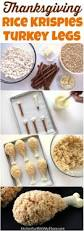 quick thanksgiving dessert recipes rice krispie recipe turkey legs rice krispies thanksgiving and