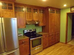backsplash mission style kitchen cabinets mission style kitchen