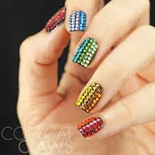 copycat claws the digit al dozen does rainbows swarovski