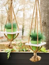 diy hanging planter with hgtv