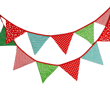 color cotton flag children u0027s birthday decorations hanging flags