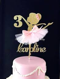 ballerina cake topper ballerina birthday cake topper sensational ideas best