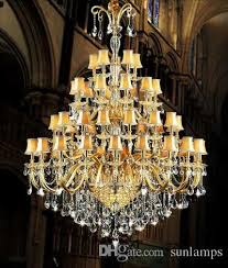 Church Chandelier 48 Light Large Church Chandelier Led Candle Light Fixture Hotel