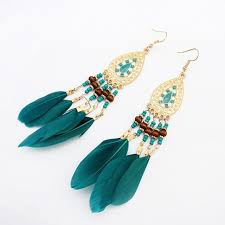 feather earrings s aliexpress buy high quality fashion bohemia earrings jewelry