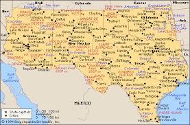 map of southwest map the southwest