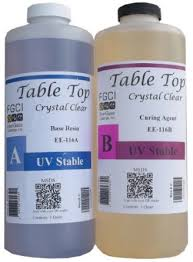 Two Part Epoxy Resin Bar Top Amazon Com Epoxy Table Top Resin 1 1 2 Quart Kit Crystal Clear