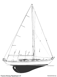 the francis kinney pipedream 37 sailboat bluewaterboats org
