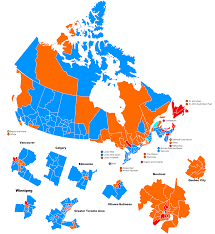 Canada Map Coloured by Otl Election Maps Resources Thread Alternate History Discussion