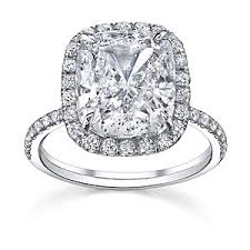 overstock engagement rings platinum 6 3 4ct tdw certified engagement ring d s