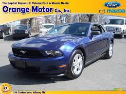 2012 Ford Mustang Black 2012 Kona Blue Metallic Ford Mustang V6 Convertible 62377528