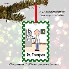 dental hygienist ornament personalized gifts cowboy