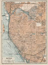 Buffalo New York Map Buffalo Ny Railfan Guide Downtown