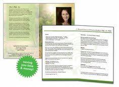 Funeral Programs Samples Funeral Program Template Microsoft Word On Pinterest In Docx