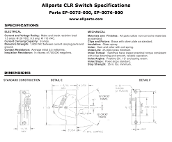 original crl 3 way blade switch allparts com