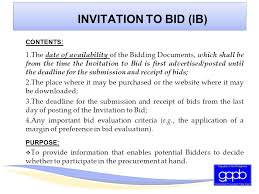 bid 4 it 1 philippine bidding documents goods and infrastructure projects