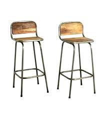 tabouret de cuisine en bois tabouret de bar en bois design chaise vintage mal