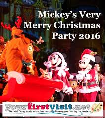review the 2016 edition of mickey u0027s very merry christmas party