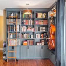Beautiful Home Libraries by Home Library Shelving Good White Shelving On Darker Orange Wall