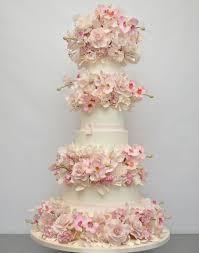 wedding cake flower pink sugar flower wedding cake design styles time