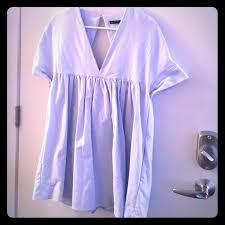 56 off zara dresses u0026 skirts zara light blue shift romper from