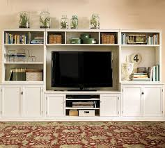 Pottery Barn Benchwright Media Logan Large Media Suite Pottery Barn Long Term Option For Media