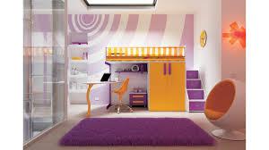 chambre fille avec lit mezzanine chambre enfant avec lit mezzanine design compact so nuit