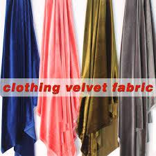 Home Upholstery Aliexpress Com Buy Silk Velvet Fabric Velour Fabric Pleuche