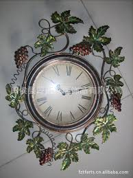 iron wall clock living room wall clock clock watch pocket watch