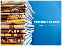 newspaper theme for ppt newspaper powerpoint template kak2tak tk