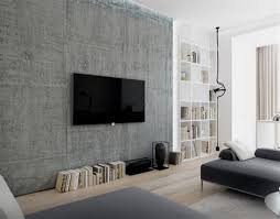 Lcd Tv Wall Mount Cabinet Design Tv On The Wall Decorating Ideas In Elegant Living Room Design